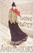 Vintage French events poster - Eugenie Buffet